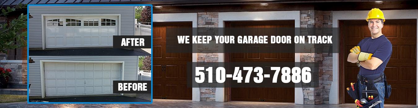 Alameda Garage Door banner